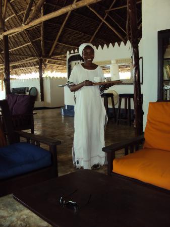 Chapwani Private Island: Katie, a wonderful member of Chapwani staff