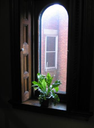William Lewis House: Hall Window