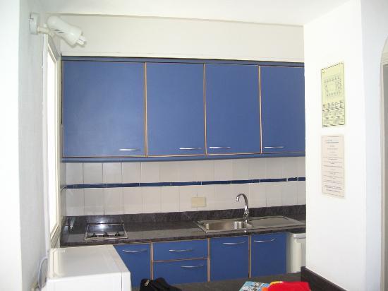 Plaza Azul: cucina