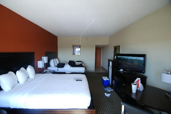 best western plus atlanta airport east double beds 32 tv