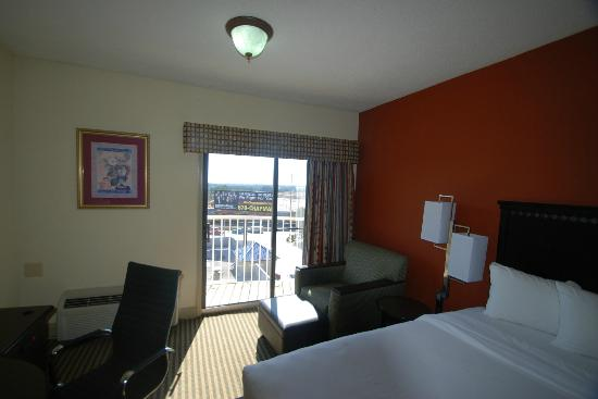 best western plus atlanta airport east view towards balcony