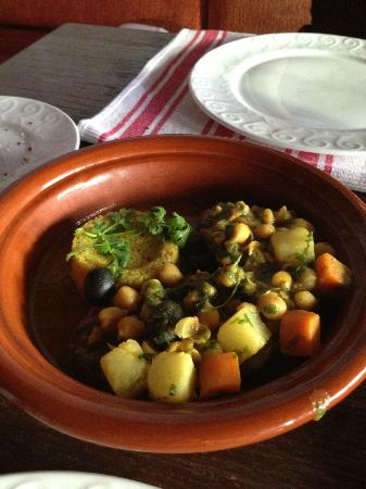 Taj Club House: Lamb Tagine