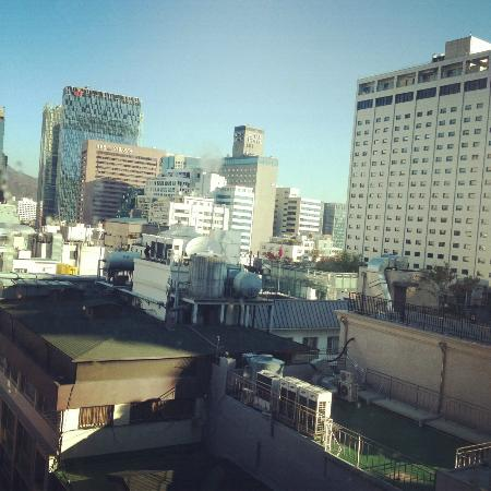 Hotel Skypark Myeongdong I: View from the window
