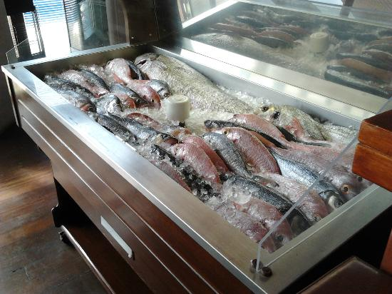 Restaurante Atlantida: fresh fish
