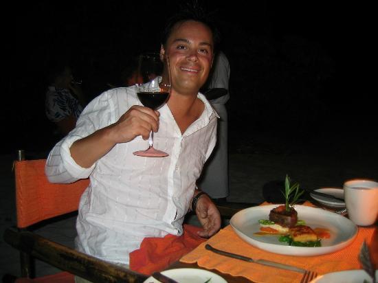 Soneva Fushi Resort: Perfect dinner