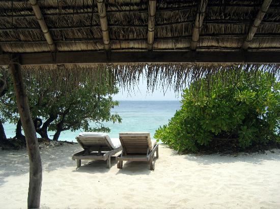 Soneva Fushi Resort: Sea view