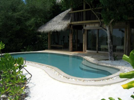 Soneva Fushi Resort: Private pool