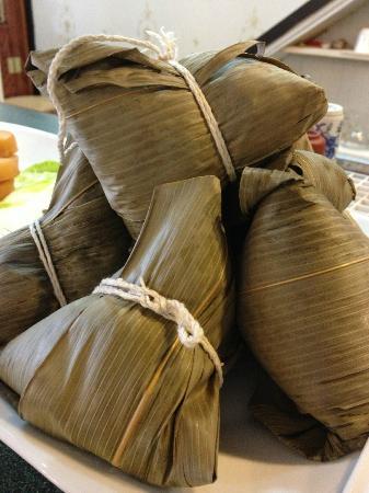 Splendid Essence: Bamboo Rice. Authentic Taiwanese appetizer. I love it!