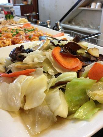 Splendid Essence: Stir-Fry Seasonal Vegetables (with healthy wood ear!) Yumm!!