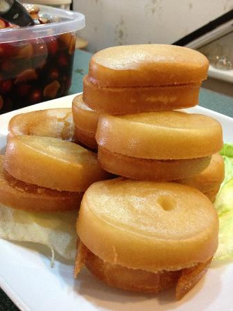 Splendid Essence : Deep-Fry Mantou, served with condensed milk. Great for dessert.