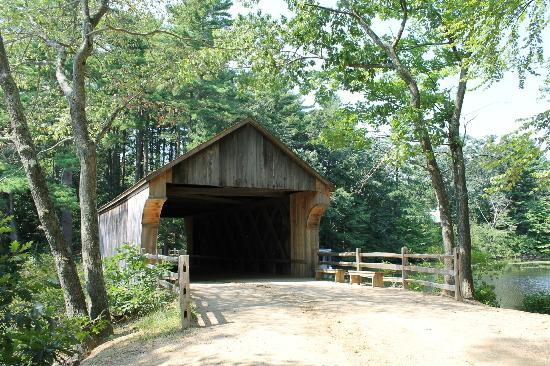 Old Sturbridge Village: Authentic Covered Bridge