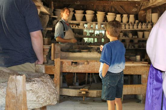Old Sturbridge Village: Questions for the potter!