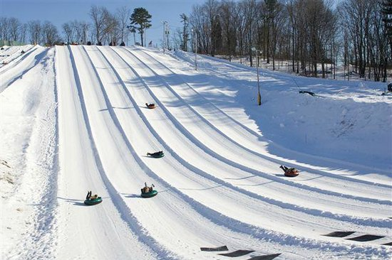White Lightning Snowtubing available at the Fernwood Resort