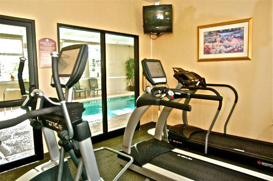 Comfort Inn University: Fitness Room