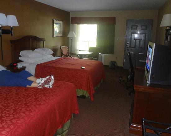 Best Western Apalach Inn: clean, comfy, spacious
