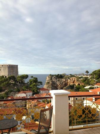Hilton Imperial Dubrovnik: View from our room