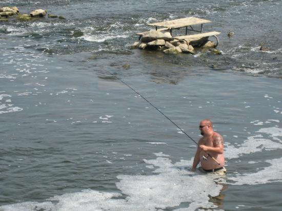 Grand Rapids, MI: Man Fishing