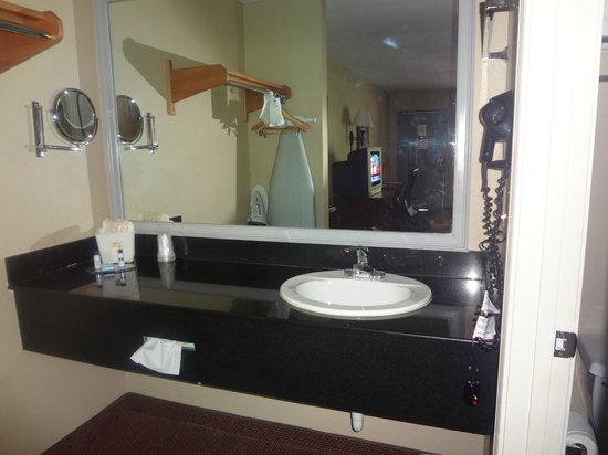 Best Western Apalach Inn: typical bathroom