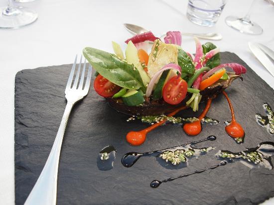 Le Potager du Mas: L'aubergine du potager