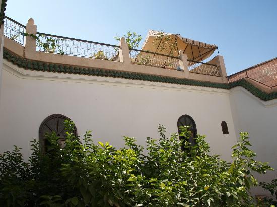 Riad Aguerzame: Vue de la terrasse