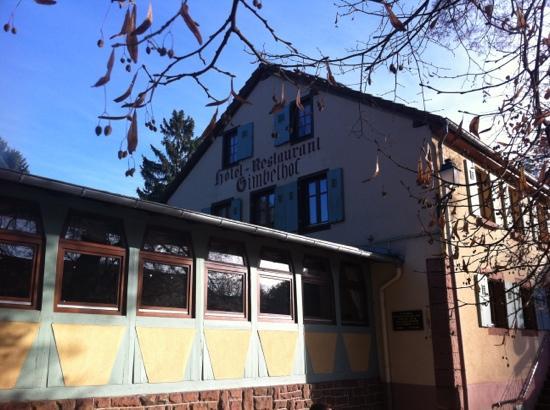 Hotel Restaurant Gimbelhof : vue du restaurant