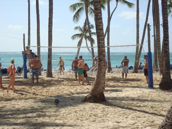 Hotel Riu Palace Punta Cana: Plage de l'hôtel