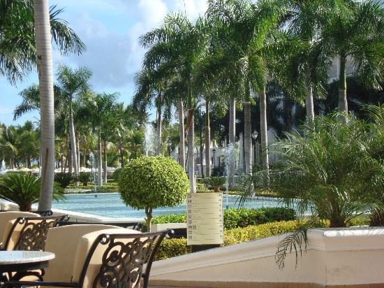Hotel Riu Palace Punta Cana: terrasse du restaurant