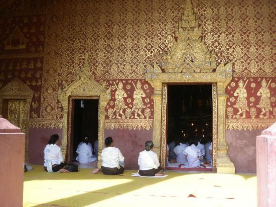 Wat Sensoukaram | Sakkarine Road, Luang Prabang, Laos