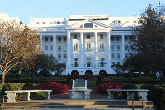 The Greenbrier: North Entrance