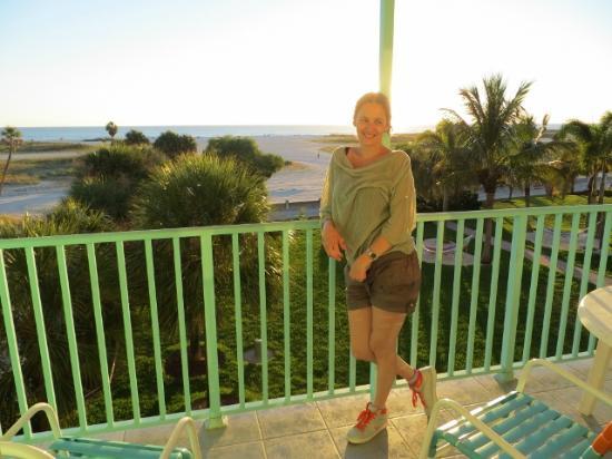 South Beach Condo/Hotel: Balkon