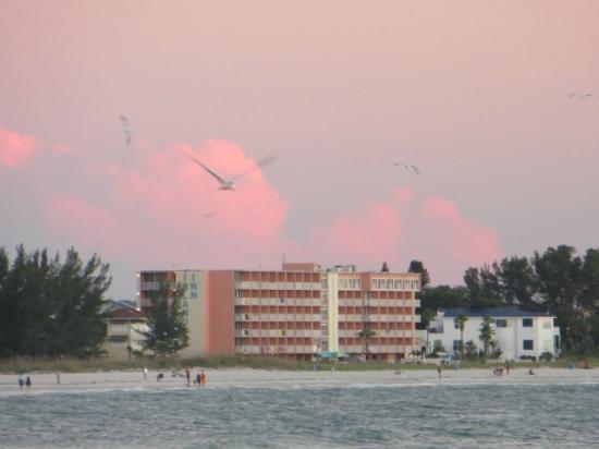South Beach Condo/Hotel: hotel vanaf het strand