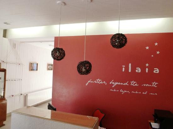 Ilaia Hotel : Recepción