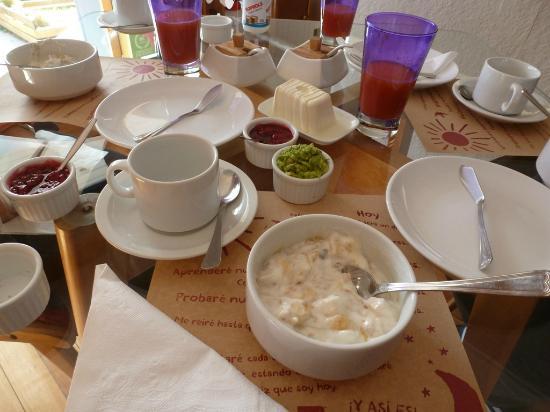 Ilaia Hotel : Desayuno