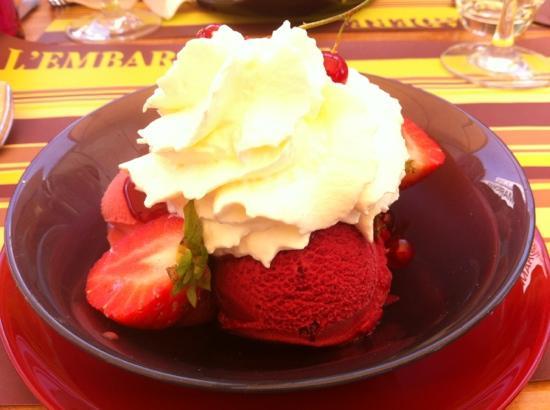 dessert aux fraises picture of l embarcadere blois tripadvisor