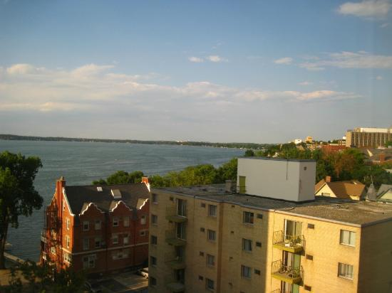 Lowell Center: A VIEW OF THE LAKE FROM MY ROOM