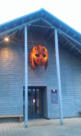 Sutton Hoo entrance to exhibition