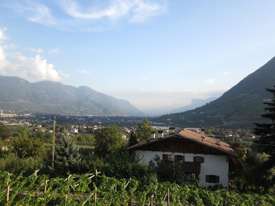 Alagundis Apartment Residence : Valley View towards Bozen/Bolzano