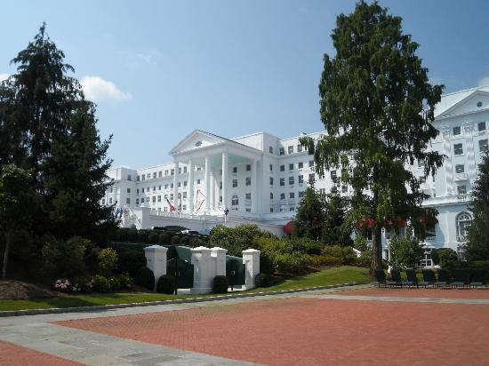 The Greenbrier: View