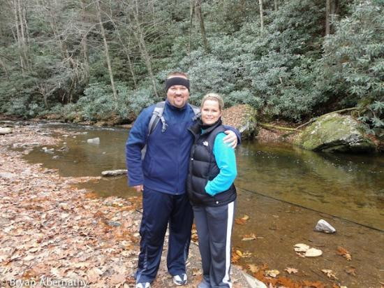 Virginia Creeper Trail: Me and Wifey