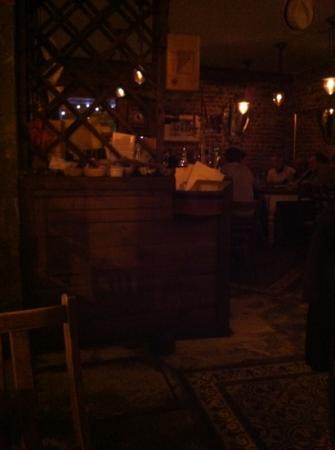 Al Santo Restaurant: entrance area