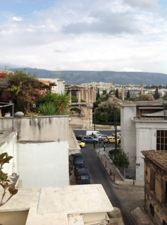 AVA Hotel Athens: room with a view