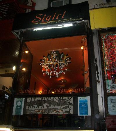 Photo of Asian Restaurant Sigiri at 91 1st Ave, New York, NY 10003, United States