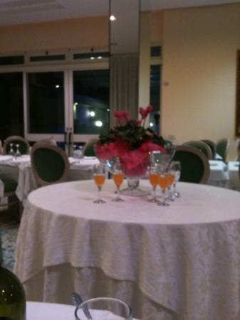 Hotel Posta: sala cena