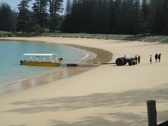 The Glass Bottom Boat - Emily Bay