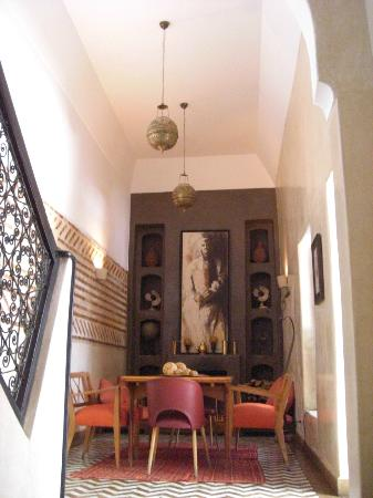Riad Magellan Yoga: Salon
