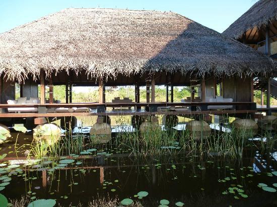Jetwing Vil Uyana: Restaurant entrance