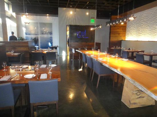 Bardessono: restaurant lucy
