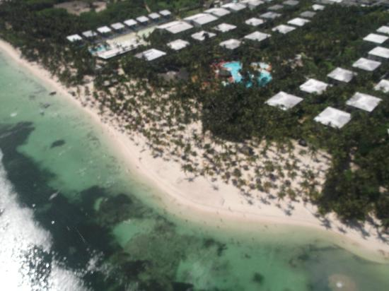 Catalonia Royal Bavaro: This is the hotel from a helicopter :) Yep, we took a helicopter ride
