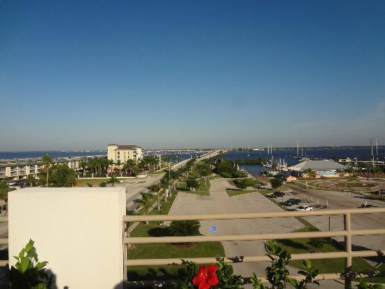 The Wyvern Hotel Punta Gorda: one view from rooftop bar