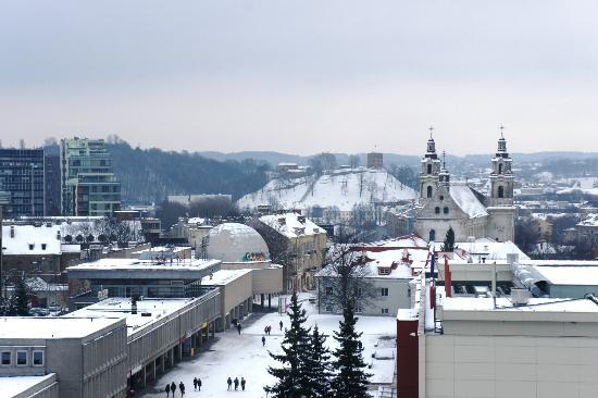 Radisson Blu Hotel Lietuva: Aussicht vom Zimmer 